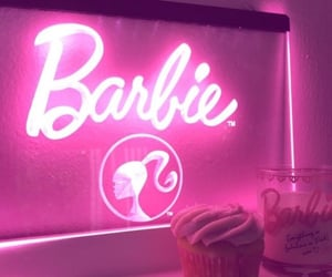 pink and barbie image