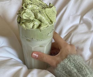 food, green, and drink image