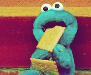 adorable, crackers, and sesame street image