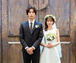 marriage, white, and kdrama image