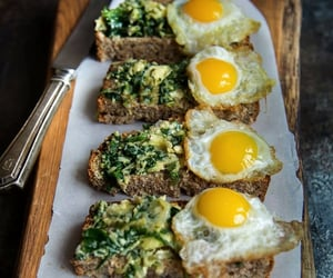 egg, ramps, and toast image