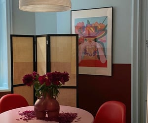 decor, desing, and dinning room image