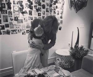 birthday, couple, and hug image