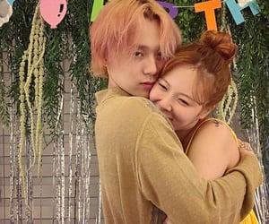 couple, hug, and kim hyunah image