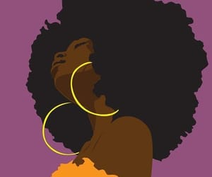 article, black woman, and change image
