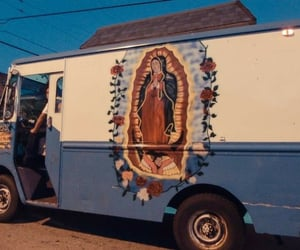 aesthetic, catholicism, and van image
