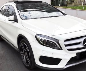 car, gla, and white image