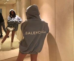 Balenciaga, fashion, and hoodie image