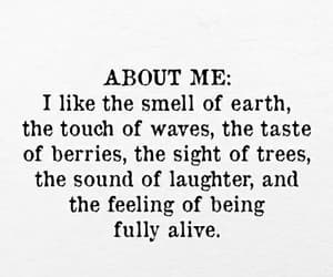 quotes, smell, and love image