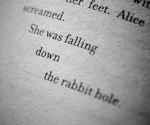 alice in wonderland, alice, and book image