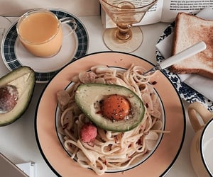 aesthetic, food, and vogue image