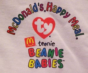 90's, childhood, and beanie babies image