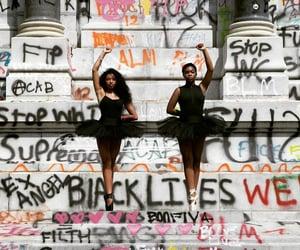 blm, black lives matter, and ballerina image