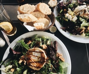 food, salad, and lunch image