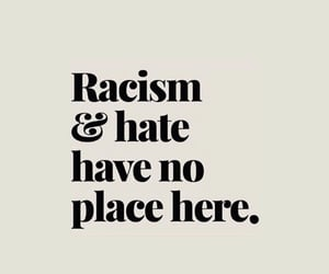 quotes, words, and racism image