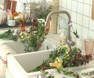 flower, home, and interior image