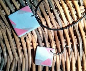 handmade jewelry, polymer clay earrings, and etsy shop image