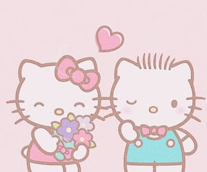 hello kitty, icons, and soft image