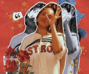 background, beyonce knowles, and braids image