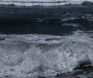 beach, dark aesthetic, and dark tropical image