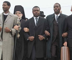 martin luther king, selma, and movie image