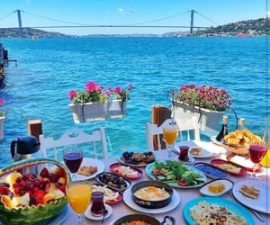food, breakfast, and istanbul image