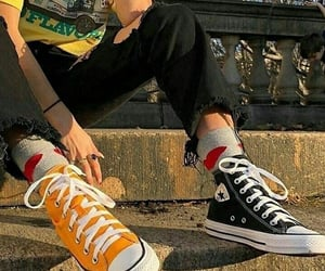 convers, shoes, and vintage image