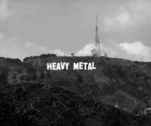 black and white, indie, and metal image