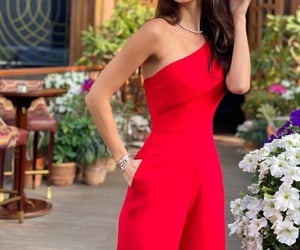 jumpsuit and red image
