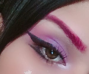 beauty, black, and eye image
