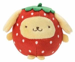 sanrio, soft, and strawberry image
