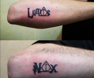 black ink, tattooer, and nox image