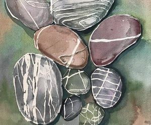 artwork, rocks, and art image