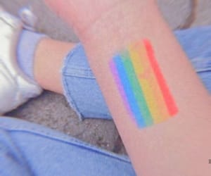 rainbow, aesthetic, and lgbt image
