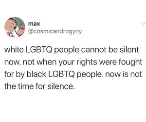 black, Transgender, and white image