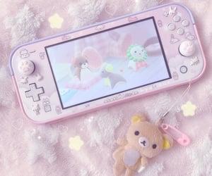 gamer girl, nintendo, and pink aesthetic image