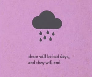 quotes, rain, and clouds image