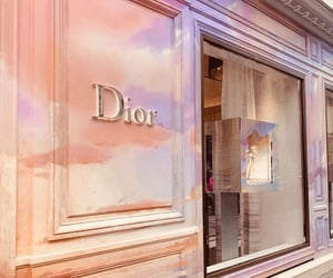dior, luxury, and store image