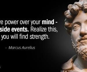 marcus aurelius, stoic philosophy, and metal strength tenacity image