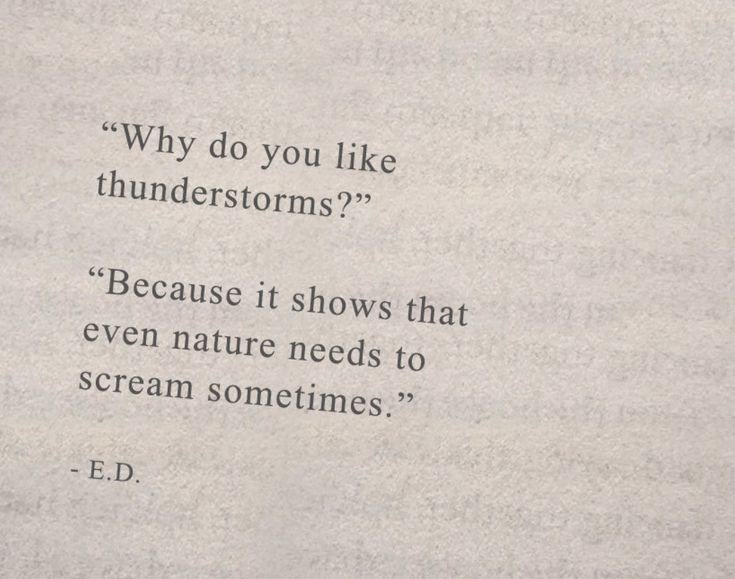 thunderstorm and inspirational quote image