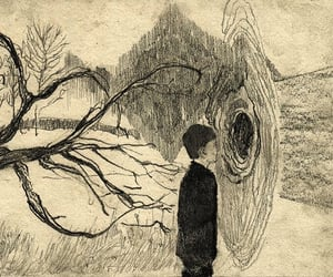 art, boy, and draw image
