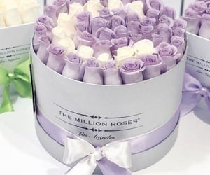 couple, glam, and lilac image