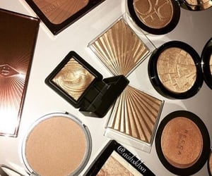 cosmetics and highlighter image