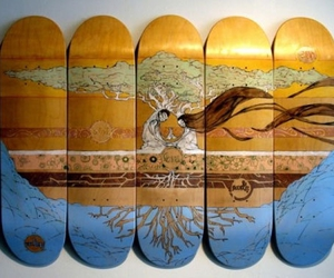 board and skate art image