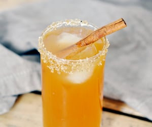Cinnamon, cocktail, and maple syrup image