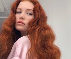 hair, redhead, and girl image