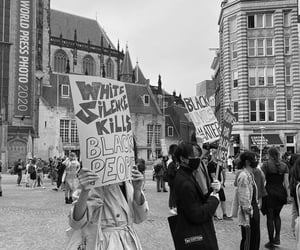amsterdam, b&w, and justice image