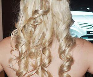 beautiful, blondes, and hair image