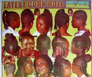 black beauty, black is beautiful, and hair image