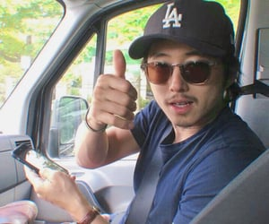 the walking dead, twd, and steven yeun image